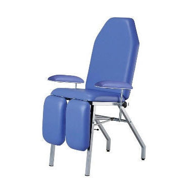 podiatry examination chair / manual / 3 sections