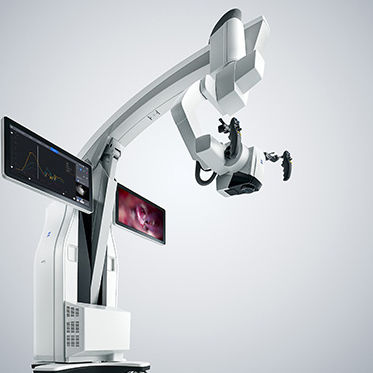 neurosurgery microscope / on casters