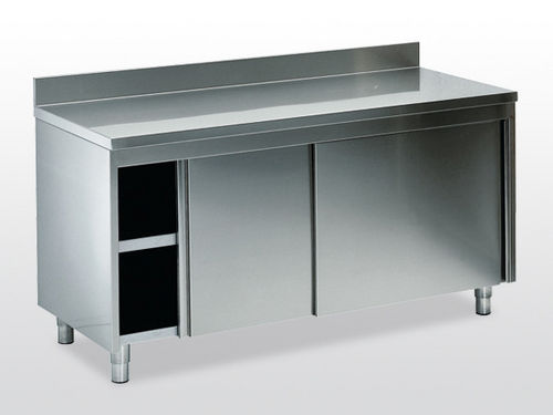 worktop with storage unit