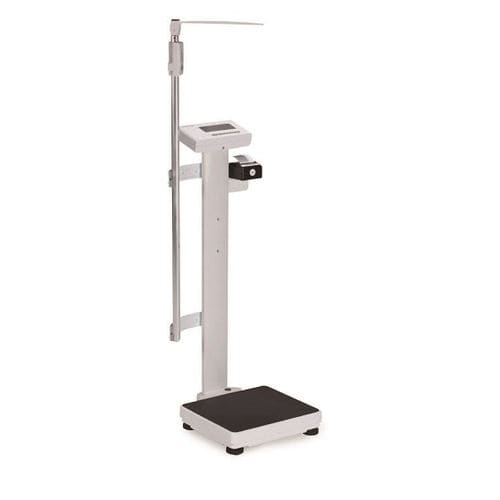 electronic patient weighing scale / with LCD display / column
