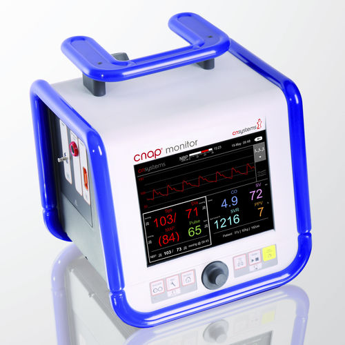 anesthesia patient monitor / non-invasive blood pressure / systolic pressure / cardiac output