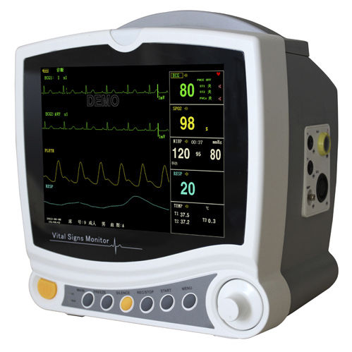 multi-parameter ECG monitor / intensive care / compact / with touchscreen