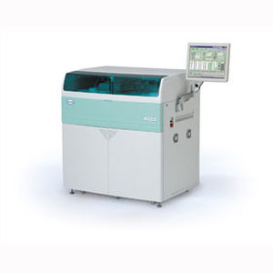 automatic clinical chemistry analyzer / human / floor-standing / with ISE