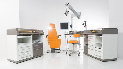 ENT workstation / modular / with chair