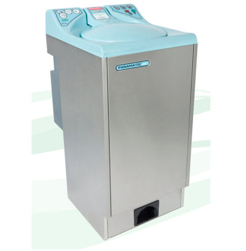 top-loading washer-disinfector / automatic / with automatic door