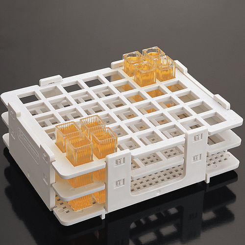 cuvette laboratory rack