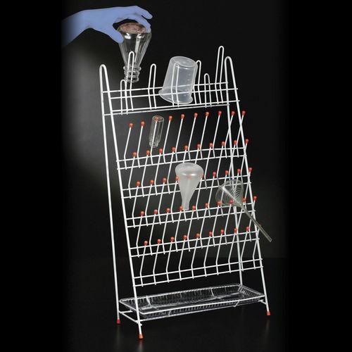 Erlenmeyer laboratory rack