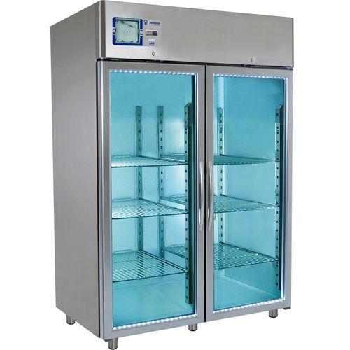 laboratory freezer / cabinet / 2-door