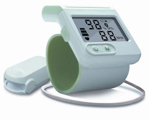 wrist pulse oximeter / with separate sensor