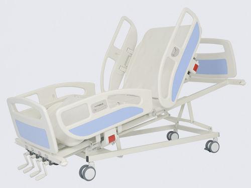 medical bed / hospital / manual / height-adjustable