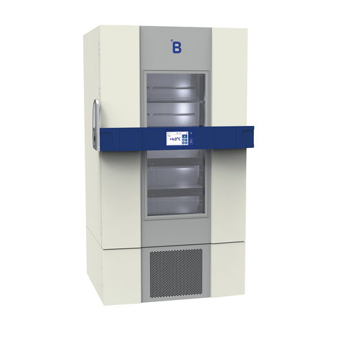 hospital refrigerator / blood bank / for clinical laboratories / upright