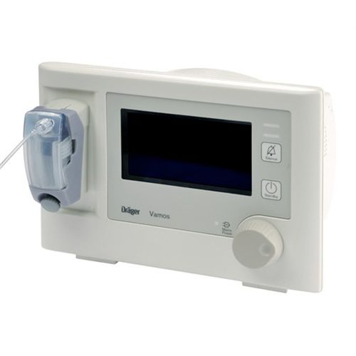 anesthetic gas analyzer / for medical devices / compact