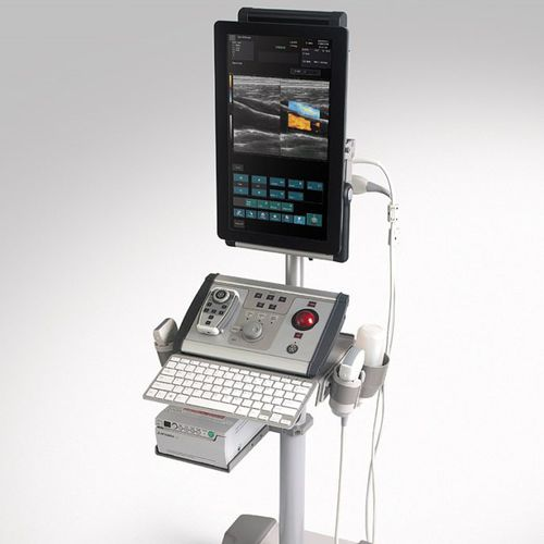 portable, with trolley ultrasound system / for musculoskeletal ultrasound imaging / B/W / color doppler