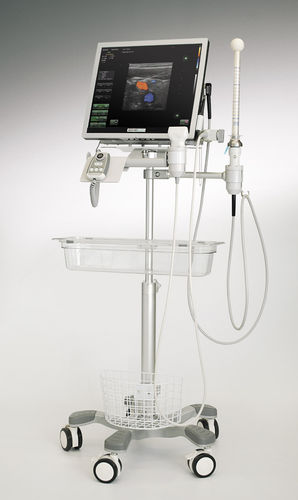 portable, with trolley ultrasound system / for colorectal ultrasound imaging / B/W / color doppler