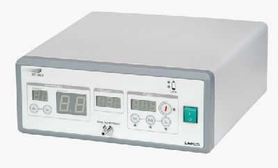 endoscopy insufflator with gas preheating