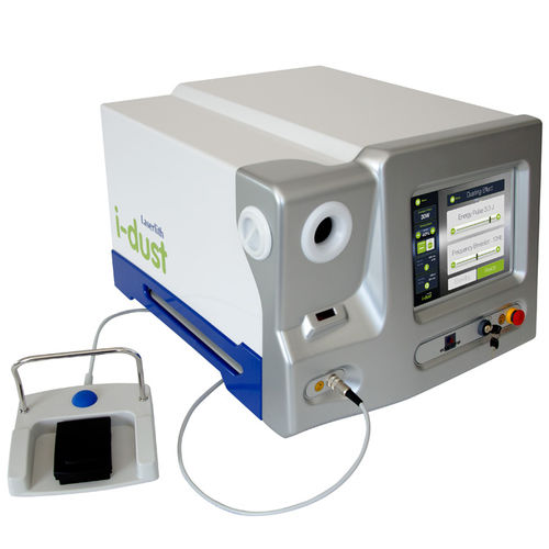 kidney stone extraction laser / Nd:YAG / holmium / tabletop