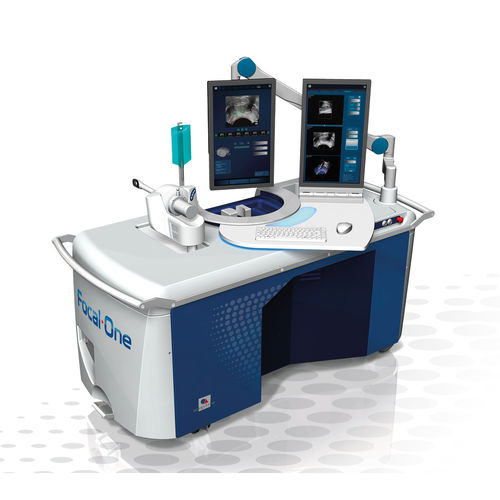 prostate tumor treatment HIFU ablation system / ultrasound-guided