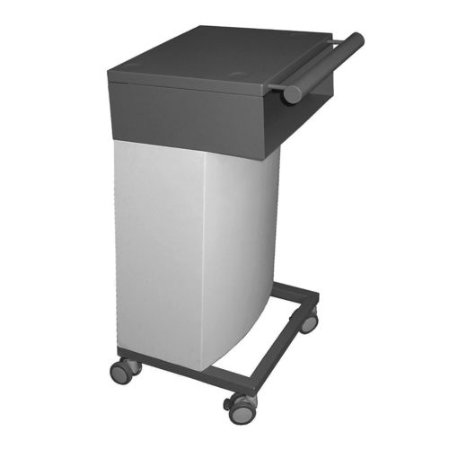 transport trolley / for electrosurgical units / with shelf