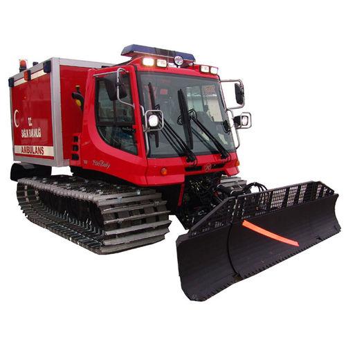 snow plow ambulance