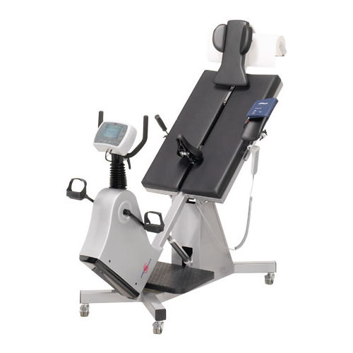 cardiology examination table / electric / height-adjustable / 1 section
