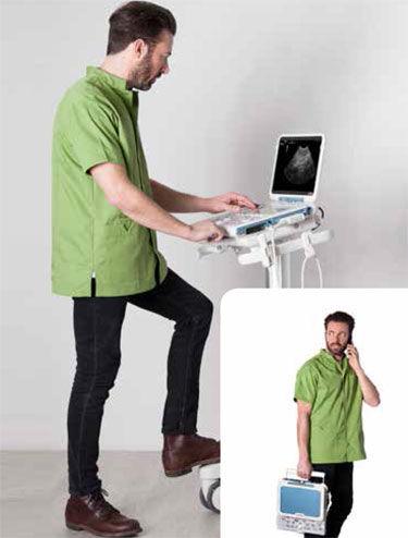 on-platform veterinary ultrasound system