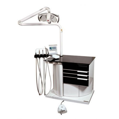 podiatry workstation / with light / compact