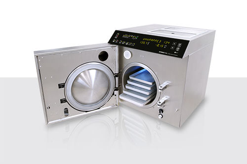 medical sterilizer / surgical / steam / bench-top