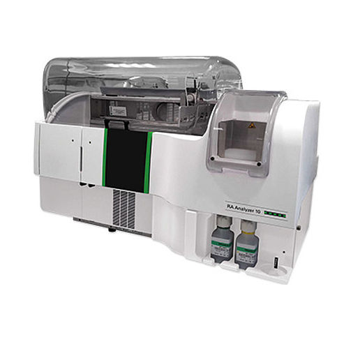 random access immunoassay analyzer / fully automated / for clinical diagnostic / compact
