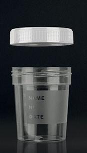 urine sample container