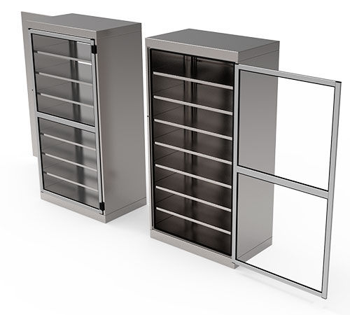 sterile material cabinet