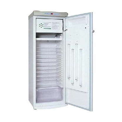 plant growth climate chamber / temperature / 1-door / stainless steel