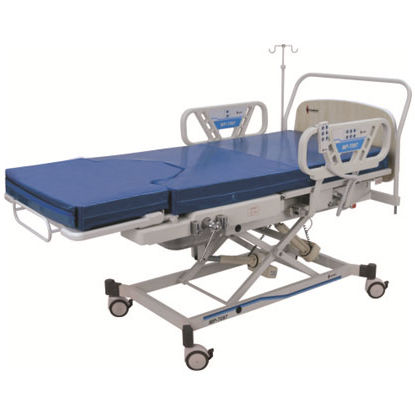 delivery bed / electric / on casters / 3-section