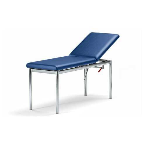 manual examination table / fixed-height / 2 sections / ergonomic
