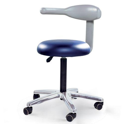 healthcare facility stool / height-adjustable / rotating / folding