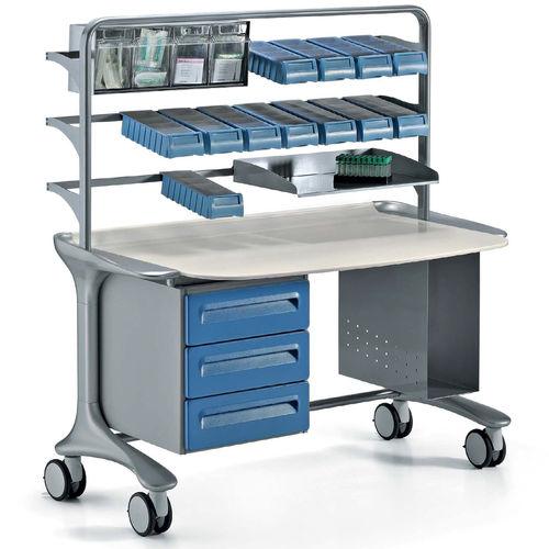 mobile pharmacy picking station
