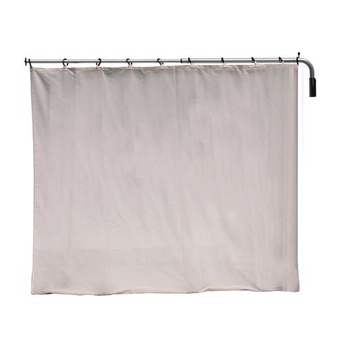 1-panel hospital screen / with curtain