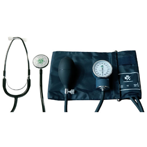 cuff-mounted sphygmomanometer