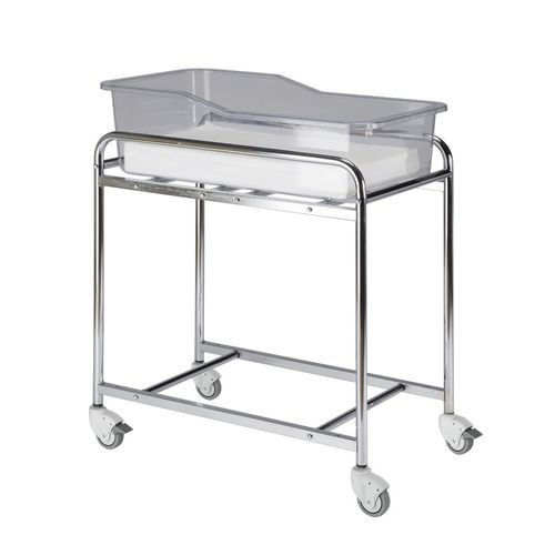 transparent hospital bassinet