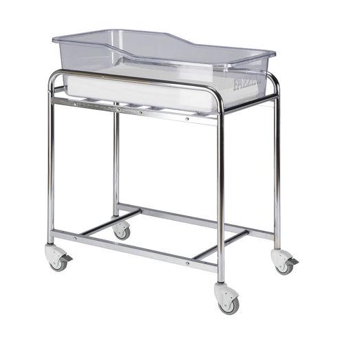 transparent hospital bassinet