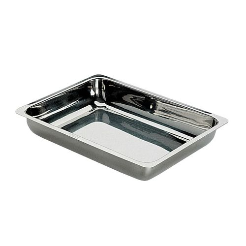 standard stainless steel instrument tray