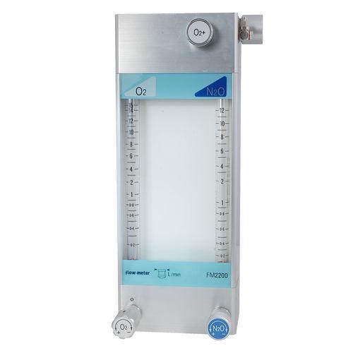 anesthesia gas blender / air / oxygen / nitrous oxide
