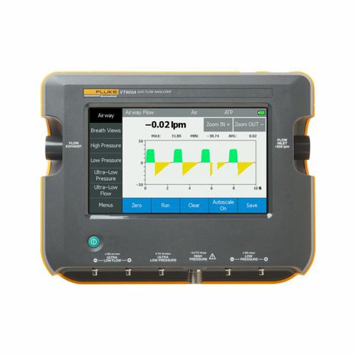 pressure analyzer / flow / for medical devices / portable