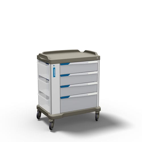 multi-function trolley / medicine distribution / transport / medicine