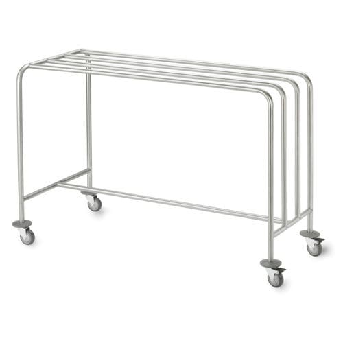 transport trolley / paper dispenser / with hanging rack