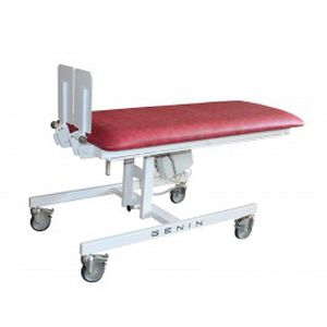 1 section tilt table / electric / on casters / pediatric