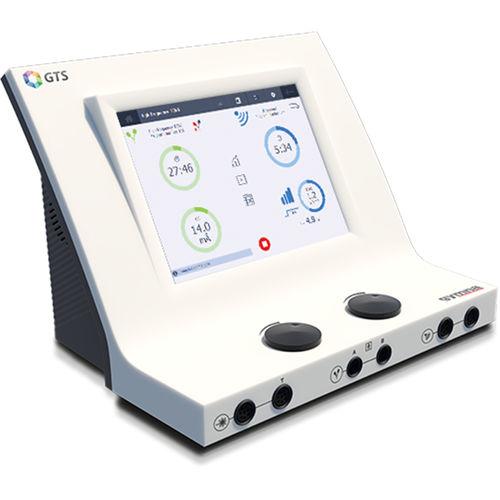 electro-stimulator / photostimulation laser / ultrasound diathermy unit / tabletop