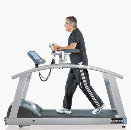 treadmill with underarm bars
