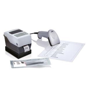 thermal transfer printer / barcode label / multipurpose / compact