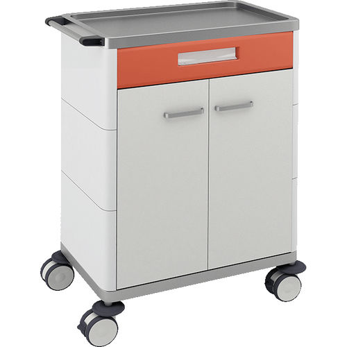 multi-function trolley / for general purpose / 2-door / with wardrobe