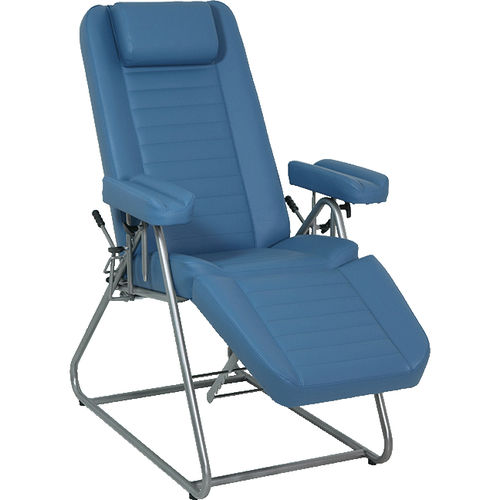 manual blood donor chair / 3 sections / height-adjustable / Trendelenburg